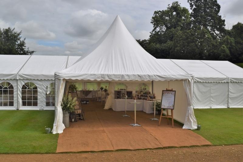 Wedding Marquee at Rousham House