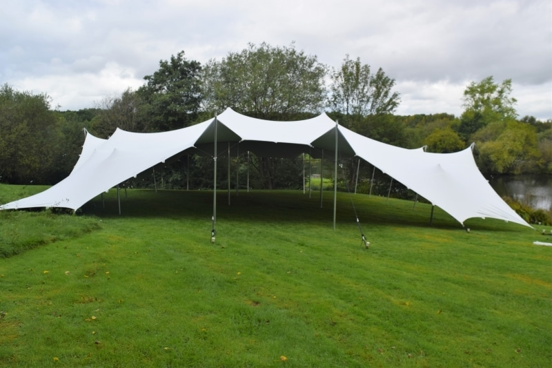Stretch Tent for Wedding ceremony