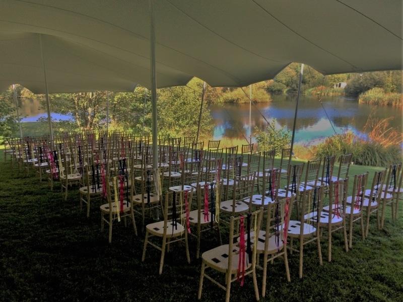 Wedding Stretch Tent in Sussex