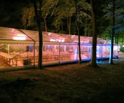Luxury Wedding Marquee lighting