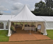 Wedding Marquee at Rousham House