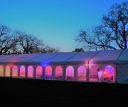 Corporate Marquee lighting