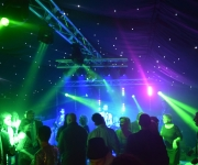 Star light linings and disco lighting in Marquee
