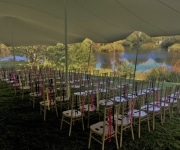 Wedding Stretch Tent in Sussex