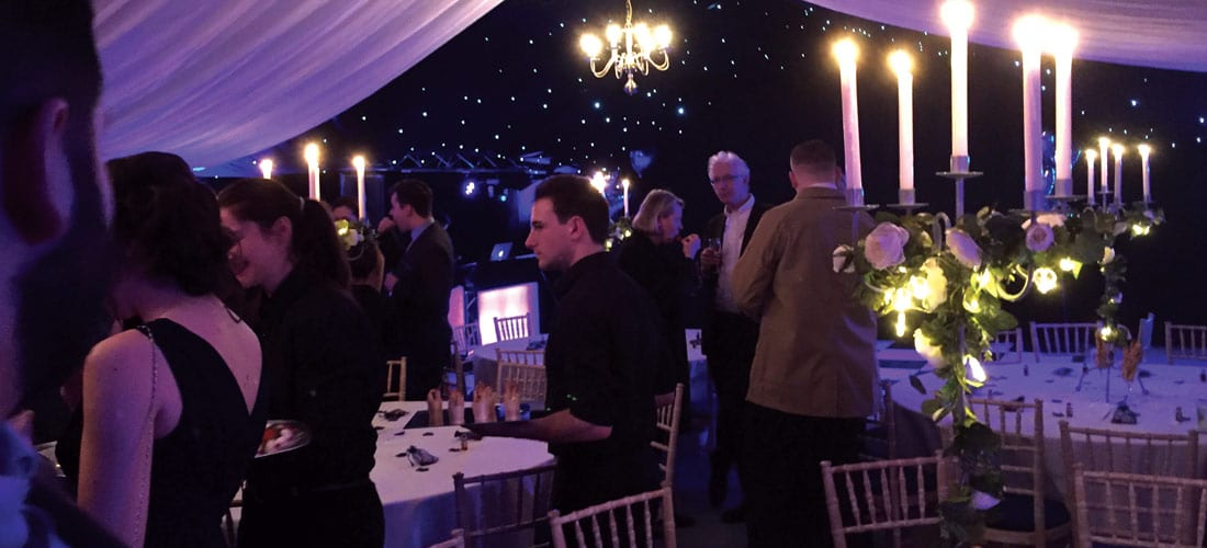 Party & Event Marquee hire in Oxfordshire