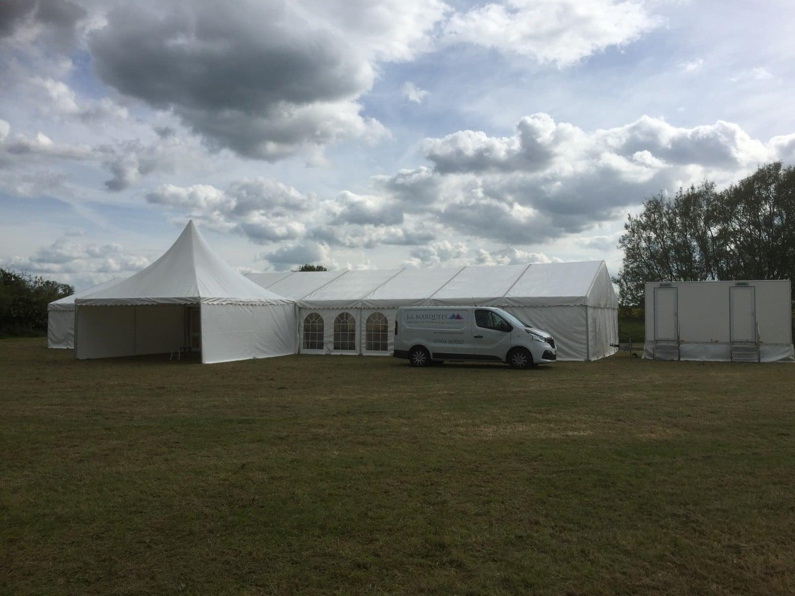 Wedding Marquee at Newbridge Oxfordshire