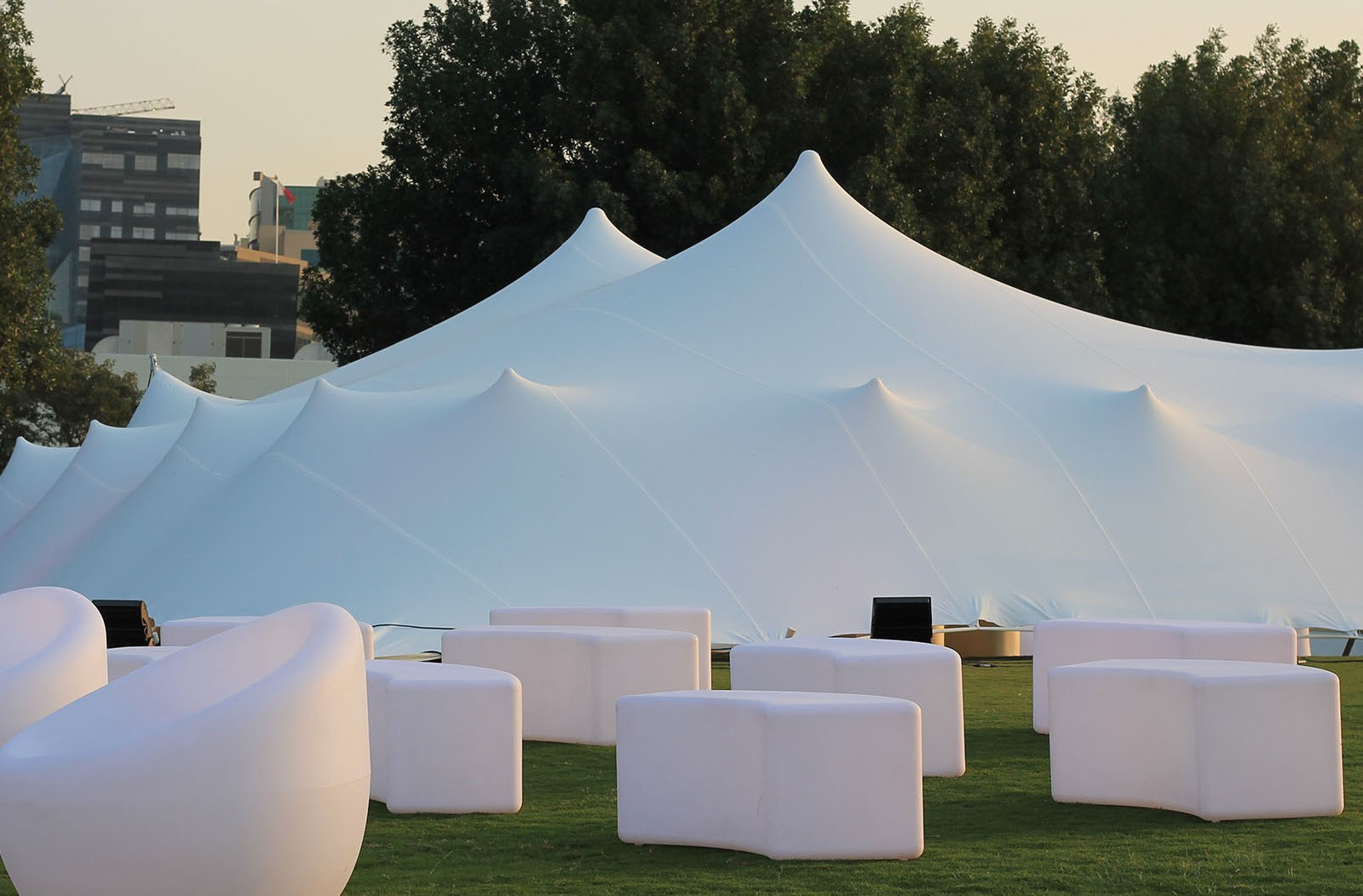 Stretch tent hire - Party Tent
