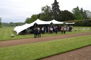 Corporate Marquee hire - Stretch Tent