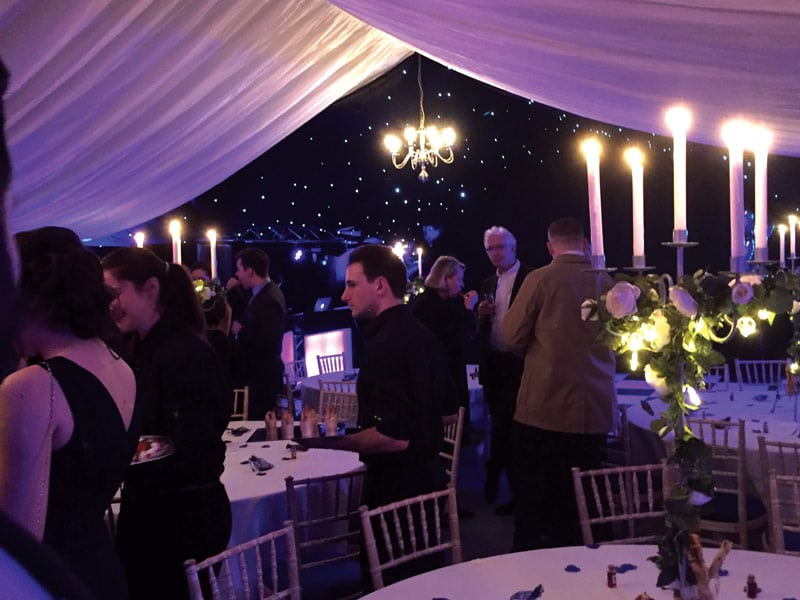 Party Event Marquee hire Oxfordshire