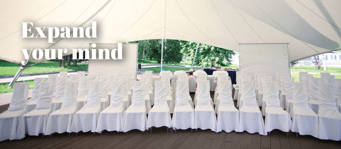 Stretch Tents & Marquee tent hire