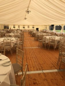 corporate marquee Oxfordshire