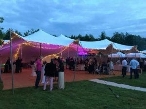 Party Stretch Tent in Oxfordshire